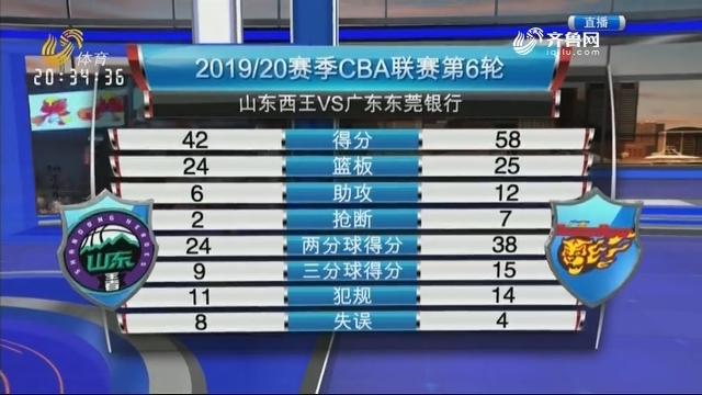 山东西王VS广东东莞银行(中)