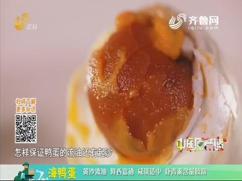 20191125《中国原产递》:海鸭蛋