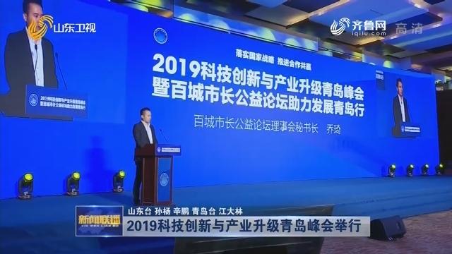 2019科技创新与产业升级青岛峰会举行