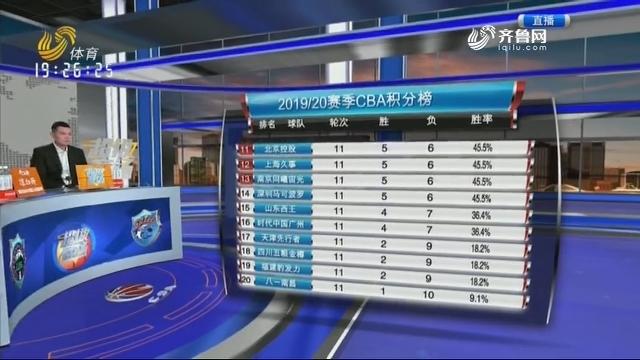 山东西王VS上海久事(上)