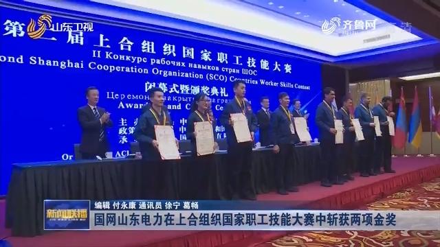 国网山东电力在上合组织国家职工技能大赛中斩获两项金奖