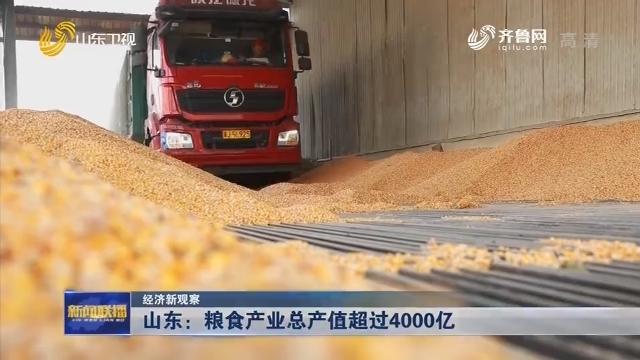 【经济新观察】山东:粮食产业总产值超过4000亿