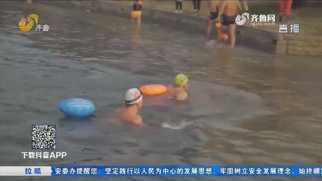 【拉呱带你耍】菏泽冬泳比赛