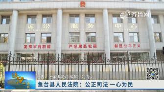 《法院在线》01-04播出《济宁鱼台县人民法院:公正司法 一心为民》