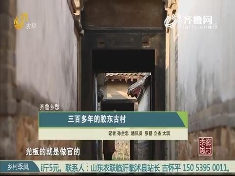 【齐鲁乡愁】三百多年的胶东古村