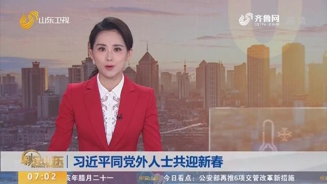 习近平同党外人士共迎新春
