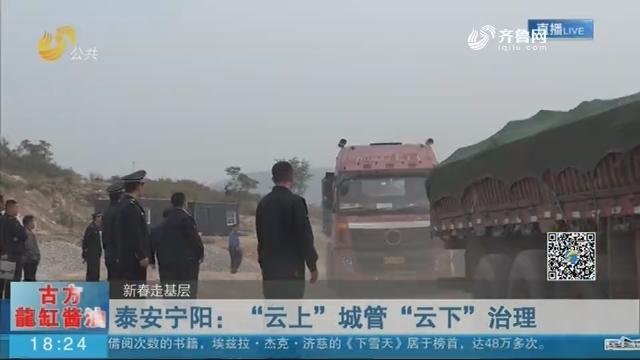 """【新春走基层】泰安宁阳:""""云上""""城管""""云下""""治理"""