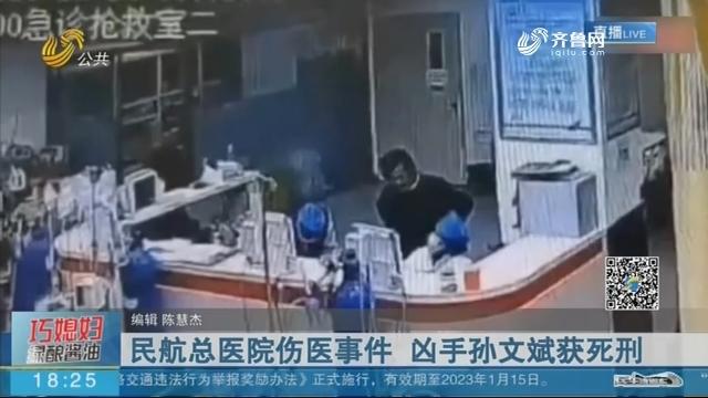 民航总医院伤医事件 凶手孙文斌获死刑