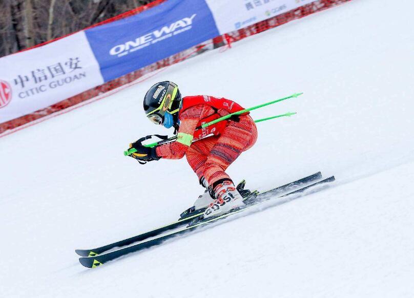 滨州市冬季全民健身运动会雪上项目比赛举行