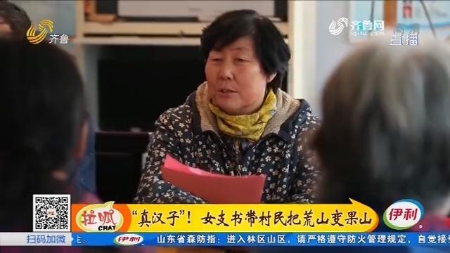 """淄川:""""真汉子""""!女支书带村民把荒山变果山"""