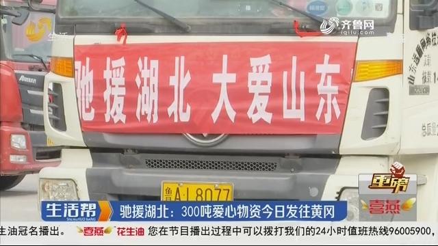 【重磅】驰援湖北:300吨爱心物资5日发往黄冈