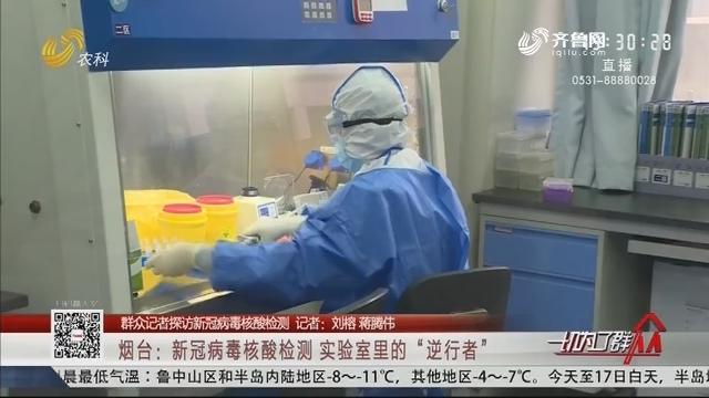 """烟台:新冠病毒核酸检测 实验室里的""""逆行者"""""""