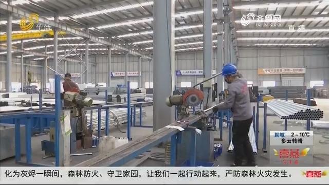 青州:加紧生产 企业接到五百万订单