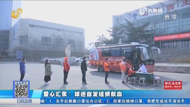 济南:爱心汇聚!球迷自发组织献血