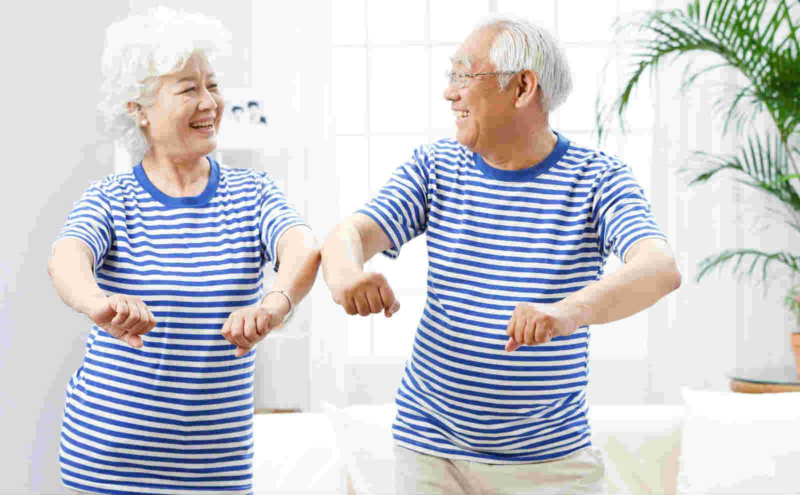 【健身跟我学】——中老年健身