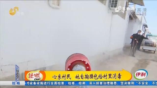 聊城:心系村民 她自掏腰包给村里消毒