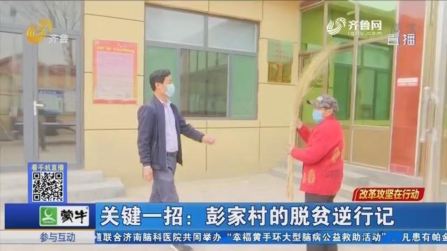 【改革攻坚在行动】关键一招:彭家村的脱贫逆行记