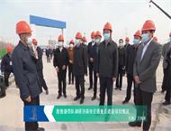 殷鲁谦带队调研济南市交通重点建设项目情况