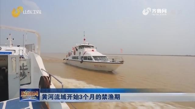 黄河流域开始3个月的禁渔期