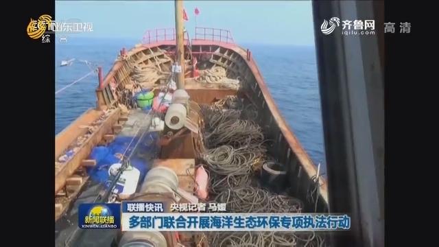 【联播快讯】多部门联合开展海洋生态环保专项执法行动