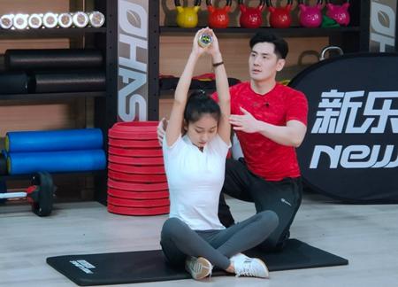 《系统健身跟我学》小道具助您舒缓紧张肌肉