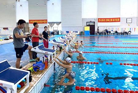 国家游泳队第四组济南封闭训练