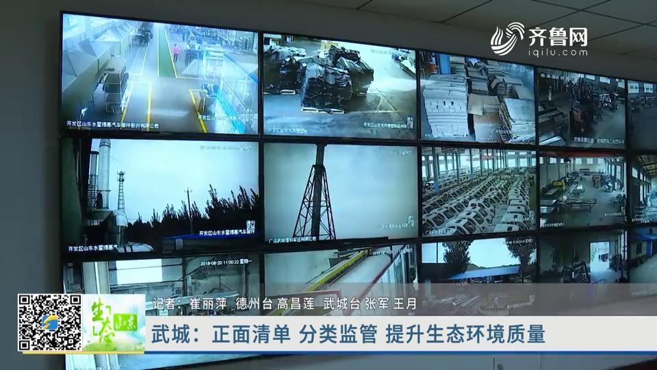 武城:正面清单 分类监管 提升生态环境质量