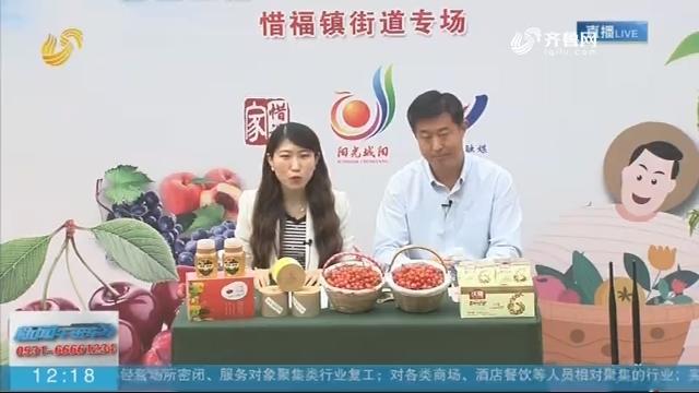 青岛城阳:街道办主任变主播 为当地樱桃找销路