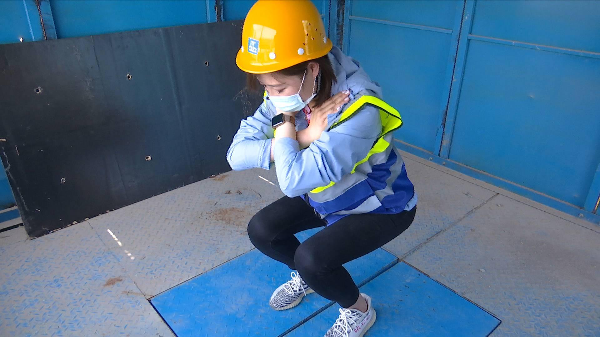 《问安齐鲁》20200517:惊吓!记者工地体验洞口坠落