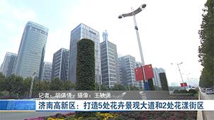 济南高新区:打造5处花卉景观大道和2处花漾街区