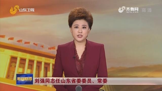 刘强同志任山东省委委员、常委