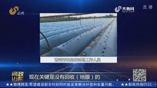 【问政山东】农村地膜偷着扔 回收体系咋建的?