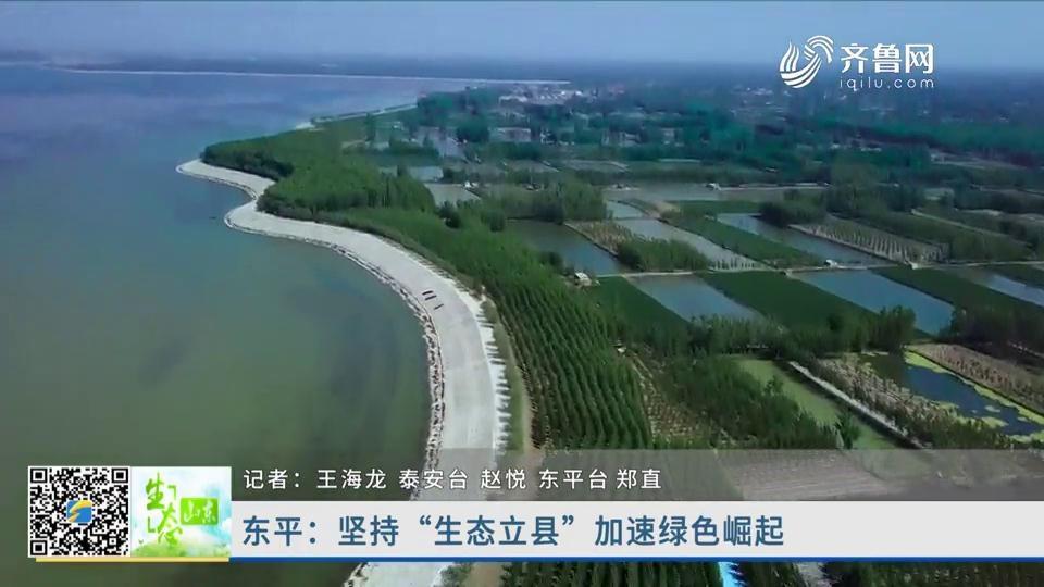 """东平:坚持""""生态立县"""" 加速绿色崛起"""