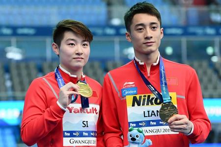 中国跳水冠军达标赛 烟台小将练俊杰表现出色