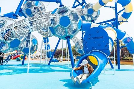 """日照""""体育+旅游""""打造海边儿童运动乐园"""