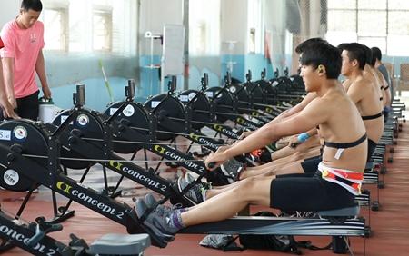 中国赛艇队陆上挑战赛6月6日在日照开赛
