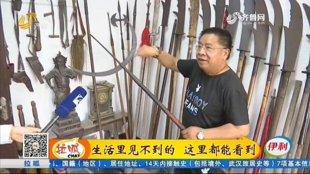 平阴:馆藏三层小楼 搬家足足拉了67车 民间收藏家为藏品找家