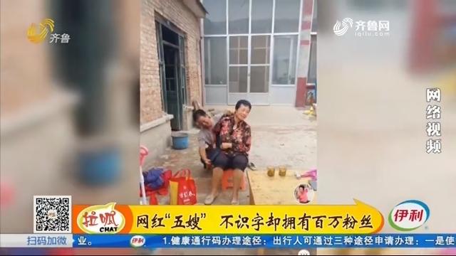 """商河:网红""""五嫂"""" 不识字却拥有百万粉丝"""