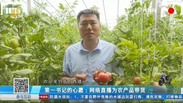 第一书记的心愿:网络直播为农产品带货