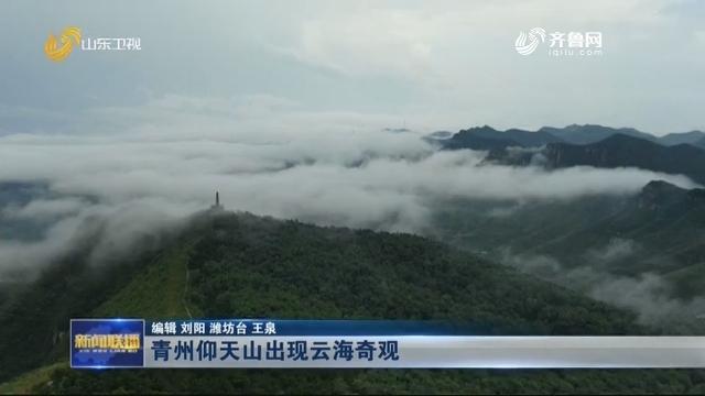 青州仰天山出现云海奇观