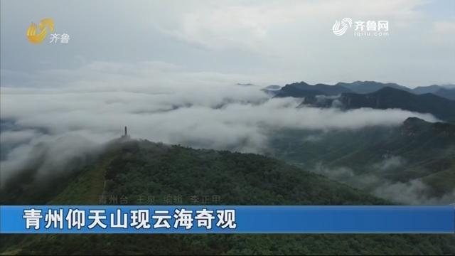 青州仰天山现云海奇观