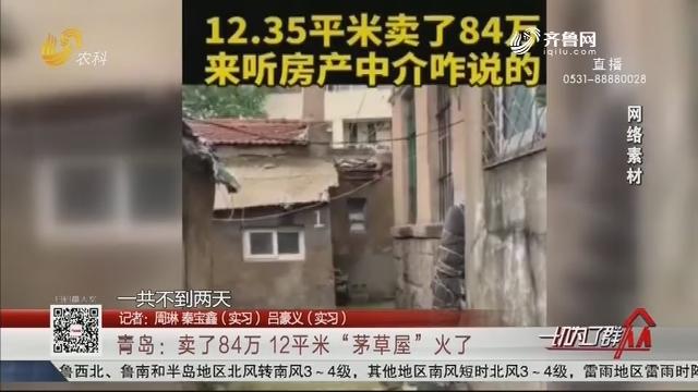 """青岛:卖了84万 12平米""""茅草屋""""火了"""