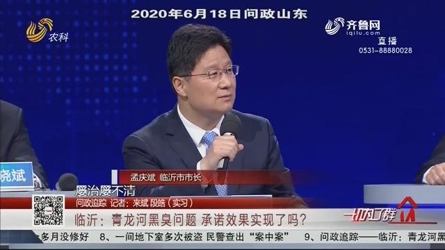 【问政追踪】临沂:青龙河黑臭问题 承诺效果实现了吗?