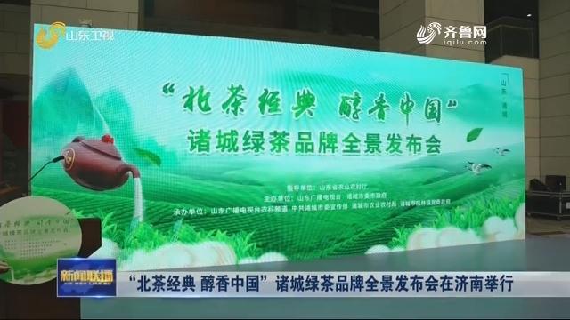 """""""北茶经典 醇香中国""""诸城绿茶品牌全景发布会在济南举行"""