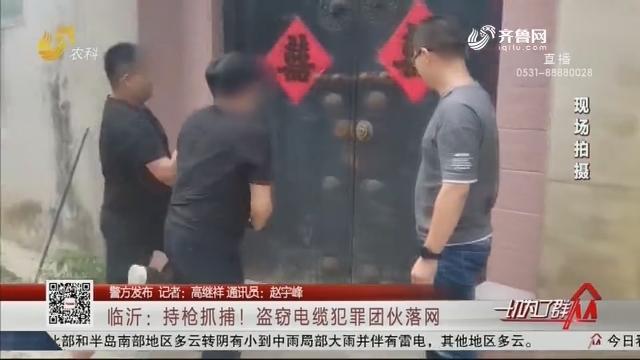 【警方发布】临沂:持枪抓捕!盗窃电缆犯罪团伙落网
