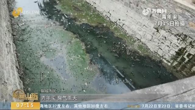 """""""江北水城""""青年渠变臭水沟六年没治好"""