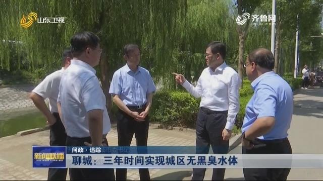 【问政·追踪】聊城:三年时间实现城区无黑臭水体