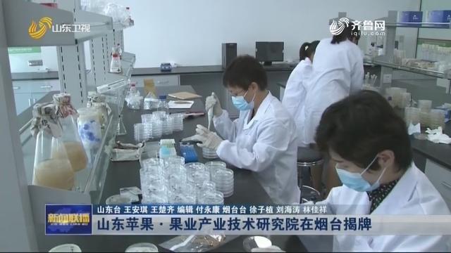 山东苹果·果业产业技术研究院在烟台揭牌