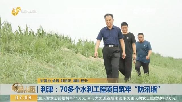 """利津:70多个水利工程项目筑牢""""防汛墙"""""""