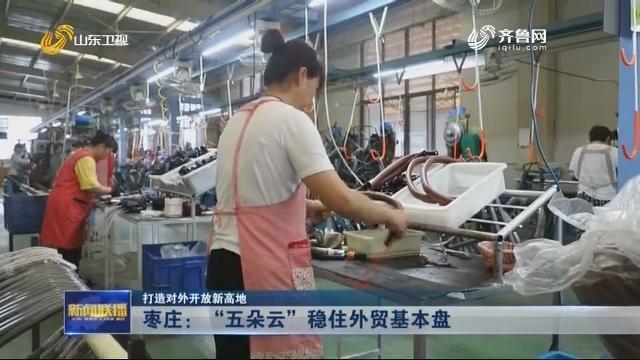 """【打造对外开放新高地】枣庄:""""五朵云""""稳住外贸基本盘"""
